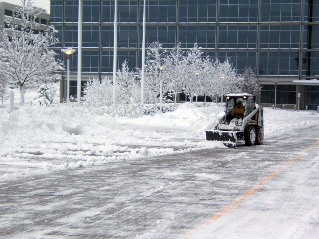 CentreCore Key Snow Clearing Photo