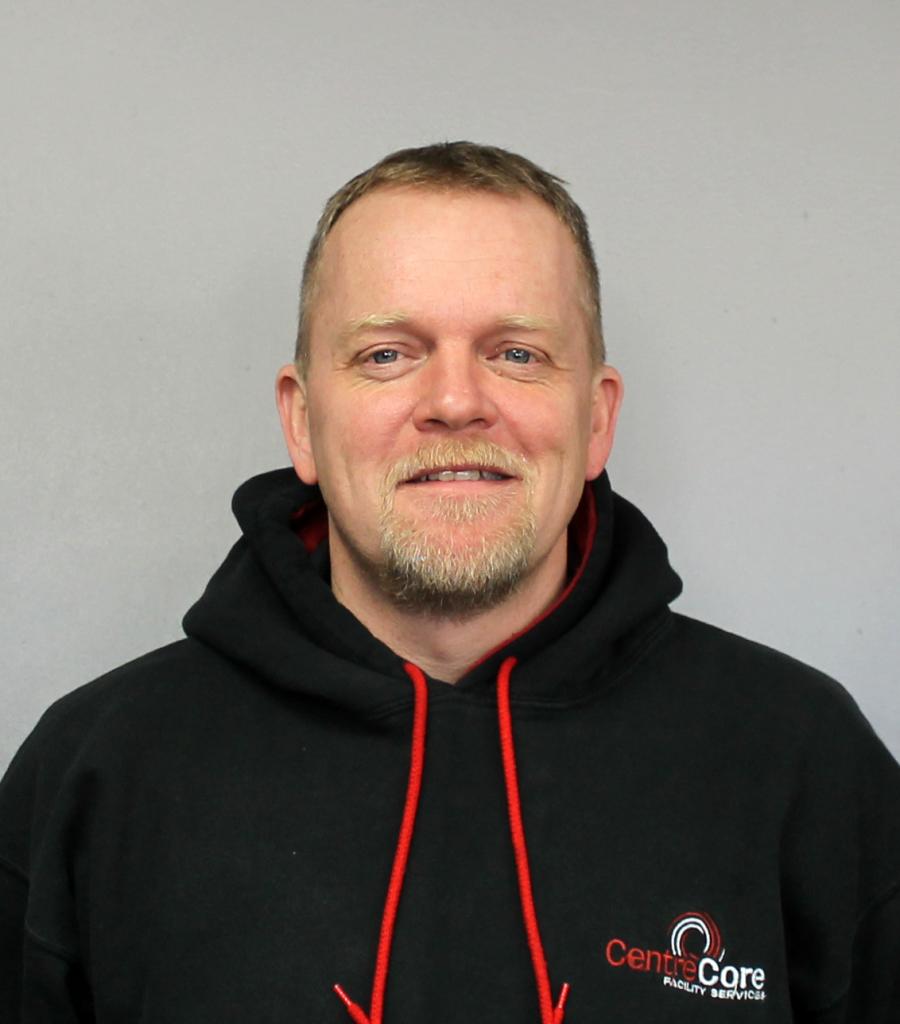 Tony Rowsell CentreCore Maintenance Supervisor